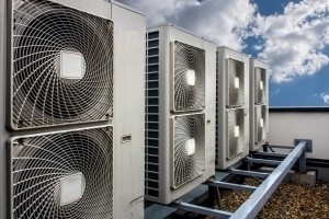 Air Conditioning on rooftop